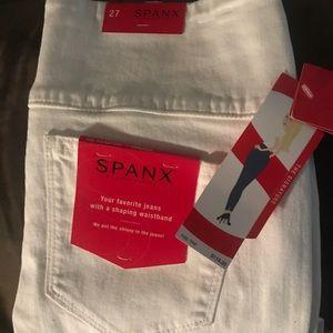 Spanx white high waisted pants